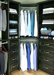corner closets