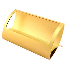 Gold Card Office Partstock 1 Pack Q Shape Business Card Holder For Office Desk Name Card Collection Organizer Supplies Storage Case Display Stand Gold