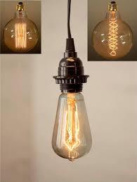 antique vintage edison bulb plug in pendant light swag lamp 3 sizes lamp shade pro