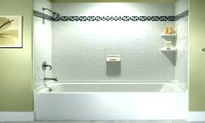 sterling shower wall panels replace bathtub with shower bathtubs cool tub surround trim ideas surrounds wall chic size x sterling fiberglass shower surround