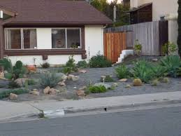 Small Picture No lawn front yard desert vibe And a demon watches from the