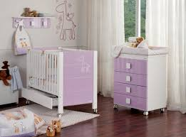portable purple white crib and changing pad furniture in sweet modern baby nursery with laminate floor baby nursery furniture