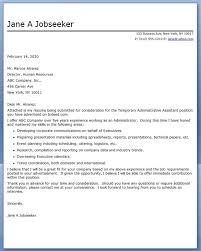 Administrative Assistant Cover Letter Musiccityspiritsandcocktail Com