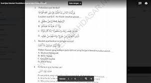 Soal uas agama kristen kls 2 sd semester i. Soal Ujian Sekolah Pendidikan Agama Islam Kelas 6 Sd Sekolahdasar Net