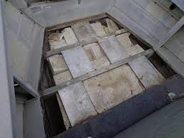 has anyone ever seen foam block in hull under floor on aluminum boat should i take it