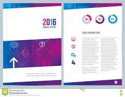 modern business annual report cover design stock vector image modern business annual report cover design