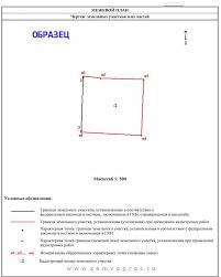 Межевание земельного участка образец приложения к акту согласования границ земельного участка