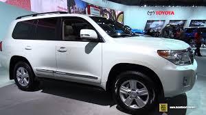 2015 toyota land cruiser. 2015 toyota land cruiser exterior and interior walkaround detroit auto show youtube