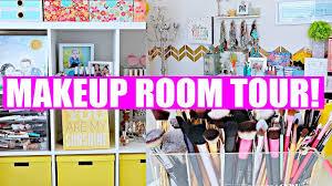 makeup room tour