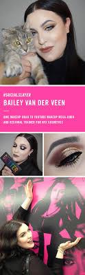bailey van der veen you makeup mega guru and regional trainer for nyx cosmetics in words pics