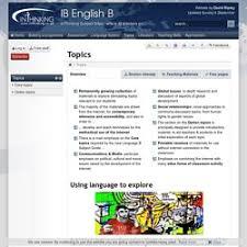 ib resources pearltrees ib english b topics