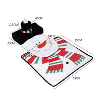 new style the decors toilet seat cover ground mat rug handkerchief case bathroom set