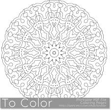Printable Coloring Pages For Adults Detailed