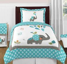 Sweet Jojo Designs Cheetah Girl Collection Sweet Jojo Designs Turquoise White And Gray Mod Elephant Fabric Memory Memo Photo Bulletin Board