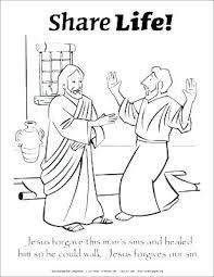 Jesus Baptism Coloring Page Lds John Baptizes Pages Being Baptized