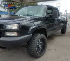 2003 Chevrolet Silverado 1500 Hd Mayhem Monstir Stock Stock