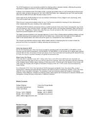 new car dealership press releaseVolvo XC90 Excellence Press Release