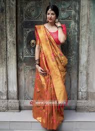 Latest Design Kanjivaram Sarees Wedding Designer Kanjeevaram Silk Saree