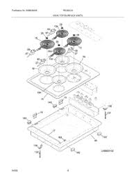 parts for frigidaire fec30c4as1 cooktop appliancepartspros com Frigidaire Oven Wiring Diagram at Frigidaire Model Number Fec30s6asc Wire Diagram