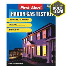 first alert home radon gas test kit
