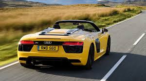 audi r8 spyder. Beautiful Audi 2017 Audi R8 V10 Spyder Review With