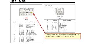 2000 mustang radio wiring diagram wirdig
