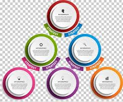 Infographic Organizational Chart Illustration Flat Circle