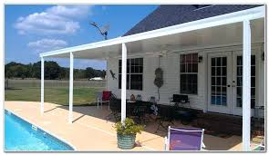 free standing aluminum patio cover. Aluminum Patio Awning Cover With Flat Roof Panels Free Standing C