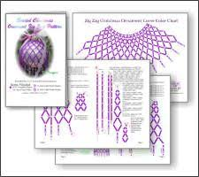 Beaded Christmas Ornaments Patterns Interesting Image Result For Free Bead Craft Instructions Gyöngymunkák