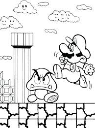 Printable Mario Coloring Pages Odyssey Coloring Pages Super Super