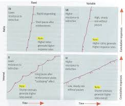 Graph Of Behavioral Response Patterns To Each Type Of