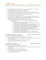 Wellness Manager Resume
