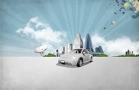 automotive technology background. Buildings Automotive Technology Aura Background Printing For