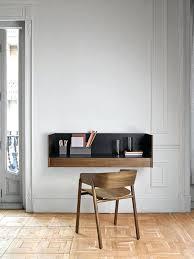 modern floating desk a modern floating desk with a black tabletop looks wow danish modern floating
