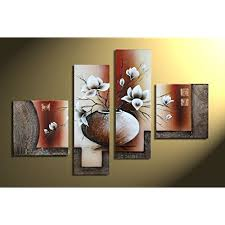 4 piece wall art amazon