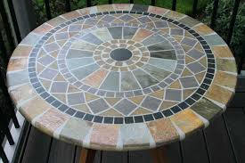 mosaic table top diy mosaic round table top free mosaic tabletop patterns