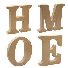 magideal wooden alphabet craft home