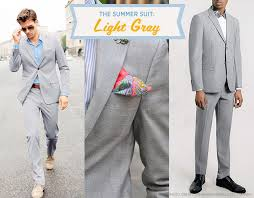 The Summer Suit: Light Gray