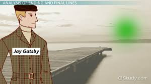 the great gatsby literary analysis videos lessons com the ending last line of the great gatsby analysis