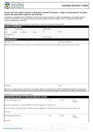 Health And Safety Incident Report Template Atlasapp Co