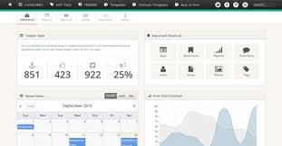 Free Html Website Templates Stunning 48 Free HTML Admin Website Templates WebDesignity