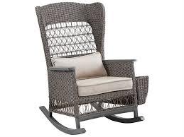 double seat rocking chairs rattan glider rattan swivel rocking chair cushions patio rocker