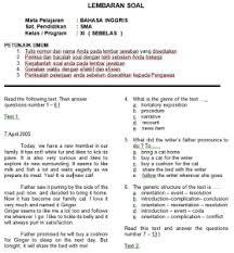 Jawaban tugas individu bahasa indonesia kelas 8 halaman 143 guru ilmu sosial. Kunci Jawaban Bahasa Inggris Wajib Kelas 11