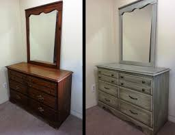 Painting Bedroom Furniture Before And After Colorful Painted Bedroom Furniture