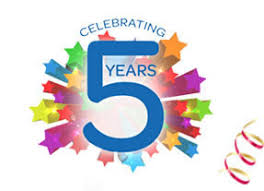 Image result for happy five years pics