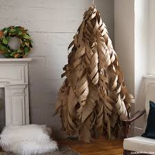 Paper Flower Christmas Tree Our Kraft Paper Christmas Tree Lia Griffith