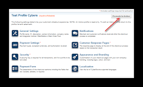 how to configure cybersource secure