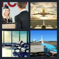 4 pics 1 word airport