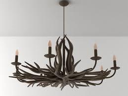 deer horn chandelier 7