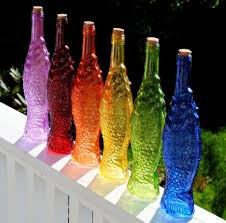 Decorative Colored Glass Bottles Home decor colored glass bottles Home decor 63